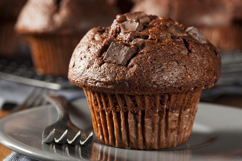 Muffins din ciocolata